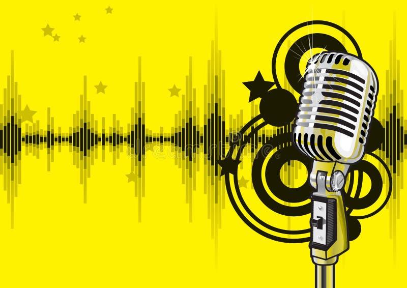 Musik-Ereignis-Auslegung (Vektor) Lizenzfreies Stockfoto