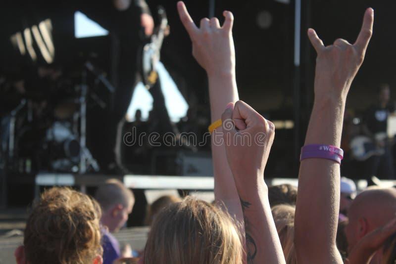 Musik-Festival stockbild