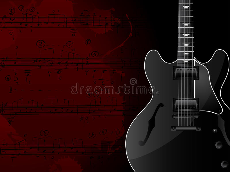 Musik-Hintergrund Lizenzfreie Stockbilder