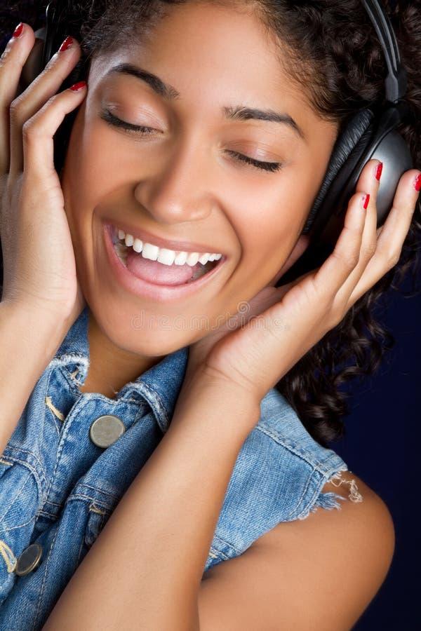 Musik-Mädchen lizenzfreies stockfoto