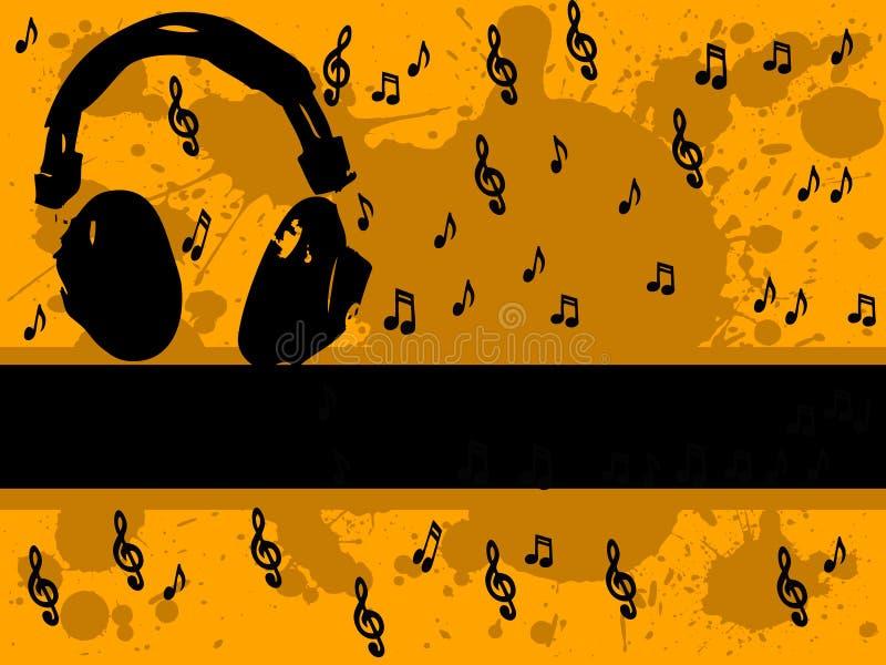 Musik-Mann II lizenzfreie abbildung