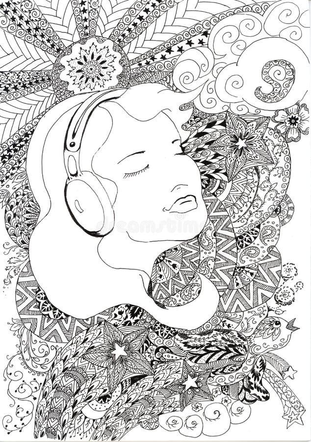 Musik in meinem Herzen lizenzfreie stockfotografie