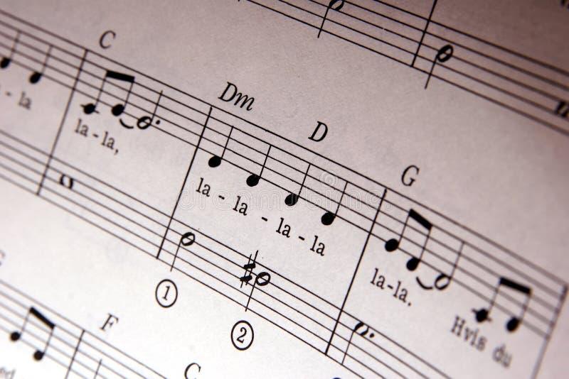 Musik noterar