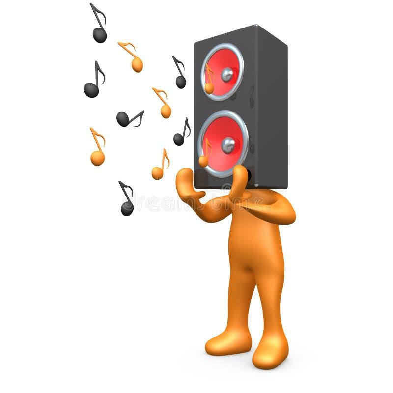 Musik-Sendung vektor abbildung