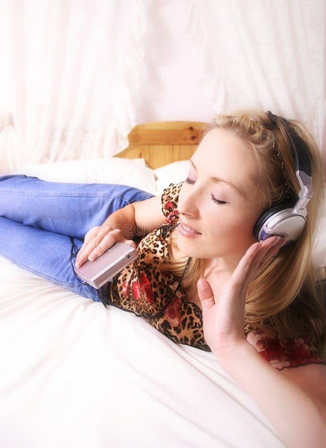 Musik-Spieler stockbild