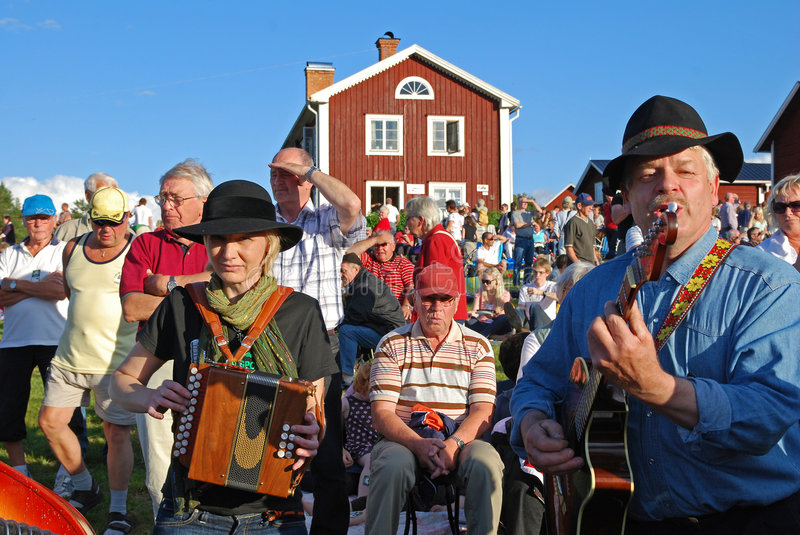 Musik in Sweden royalty free stock photo
