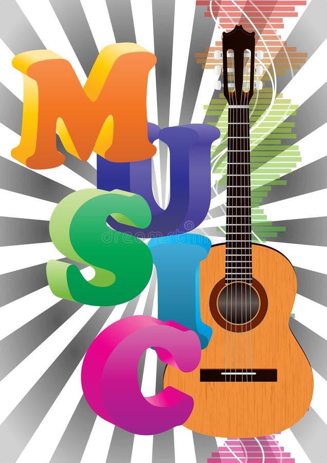 Download Musikaffisch vektor illustrationer. Illustration av propp - 27275064