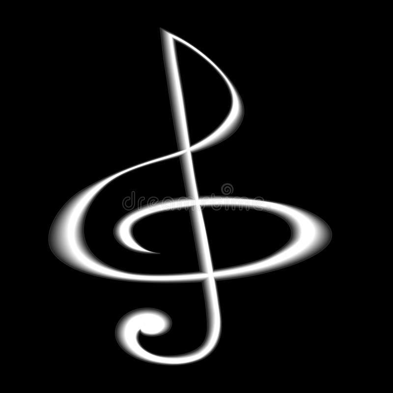 Free Musikal Glef Royalty Free Stock Photo - 11376975