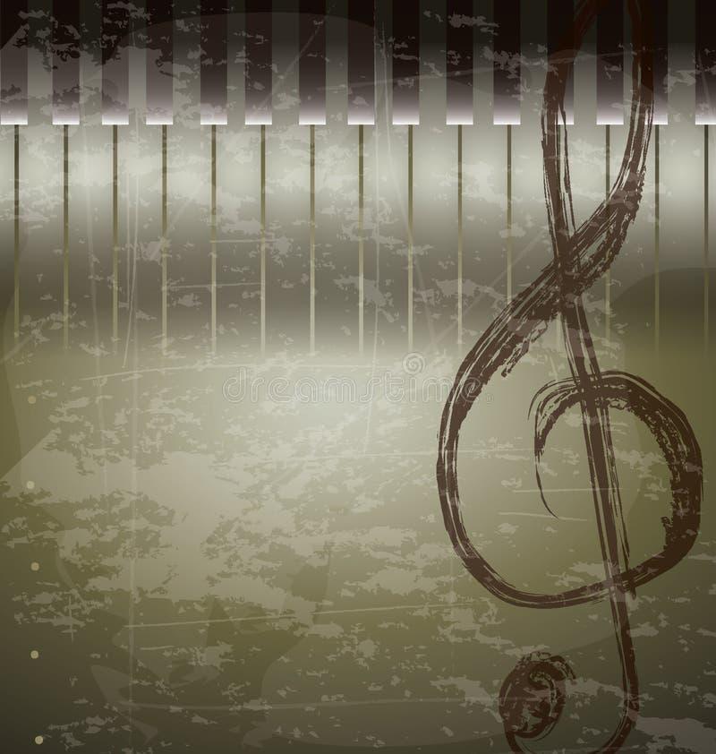 Musikalische Anmerkung lizenzfreie abbildung