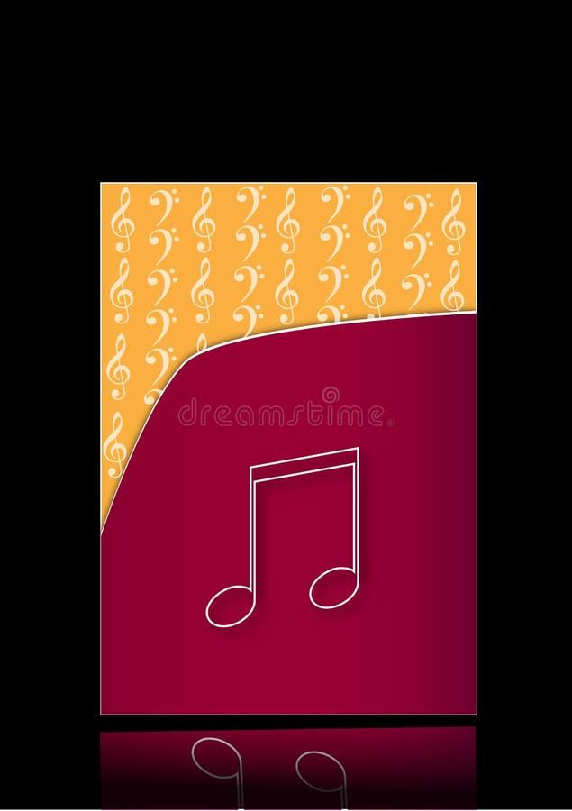 Musikalische Datei vektor abbildung