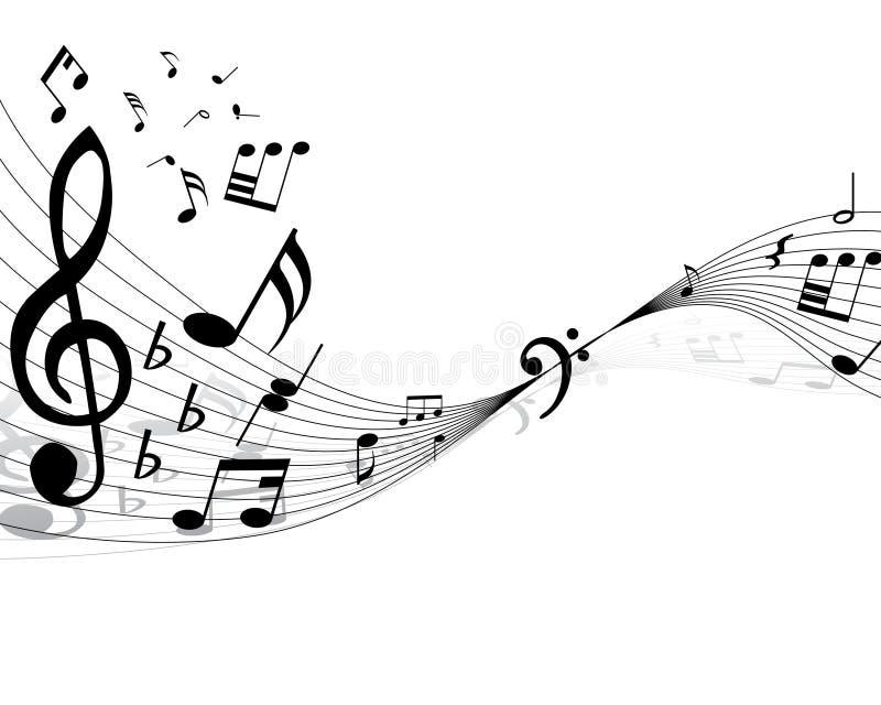 Musikalischer Personal vektor abbildung