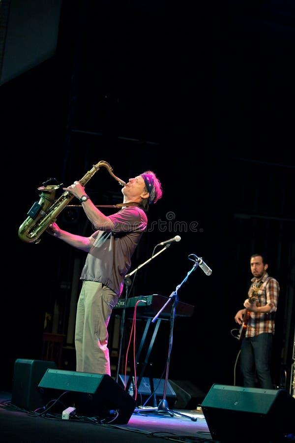 Musikalisches Projekt Bill Evans Soulgrass der Leistung stockfotos