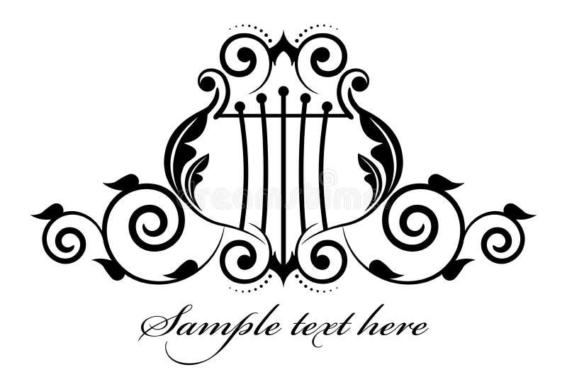 Musikalisk symbol royaltyfri illustrationer