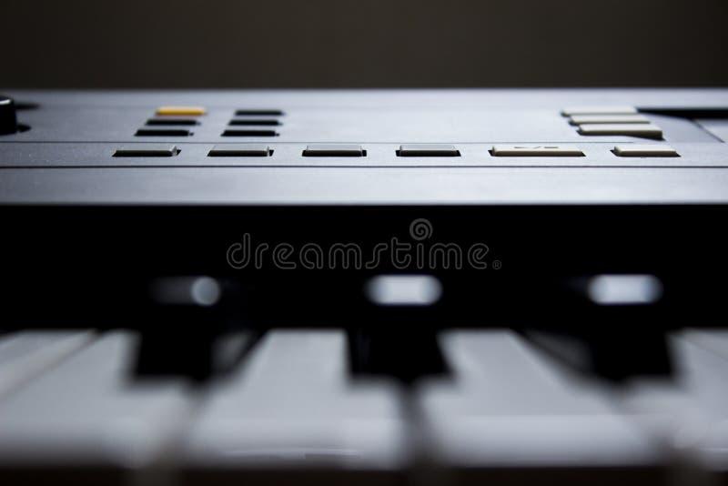 Musikaliskt tangentbord arkivfoton