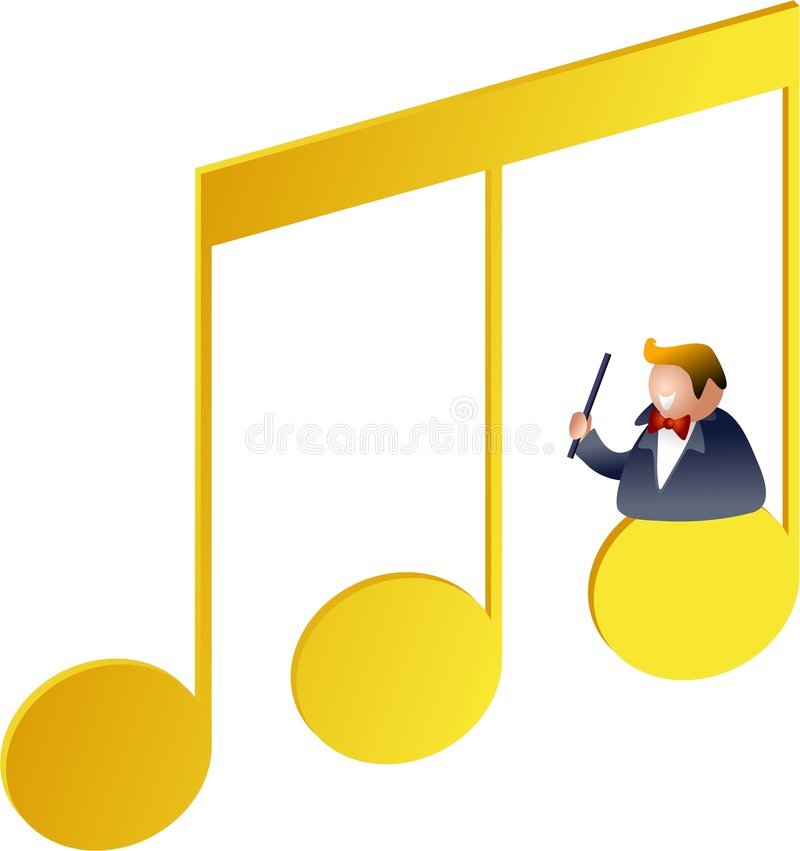 Download Musikanmärkningar stock illustrationer. Illustration av begrepp - 515007