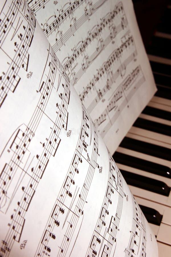 Download Musikanmerkungen stockfoto. Bild von sang, zeile, plenitude - 873286
