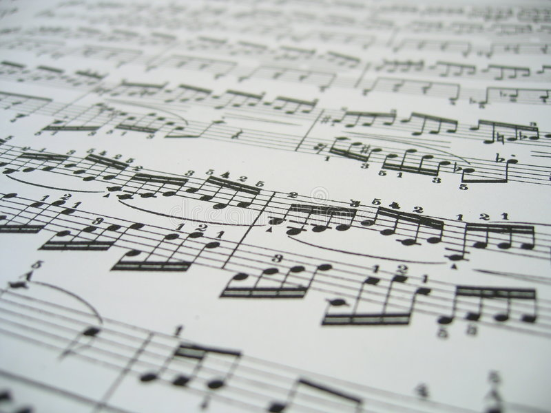musikark royaltyfri fotografi