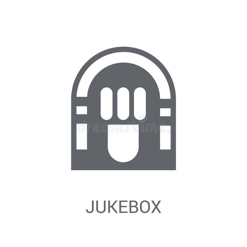 Musikautomat-Ikone  stock abbildung