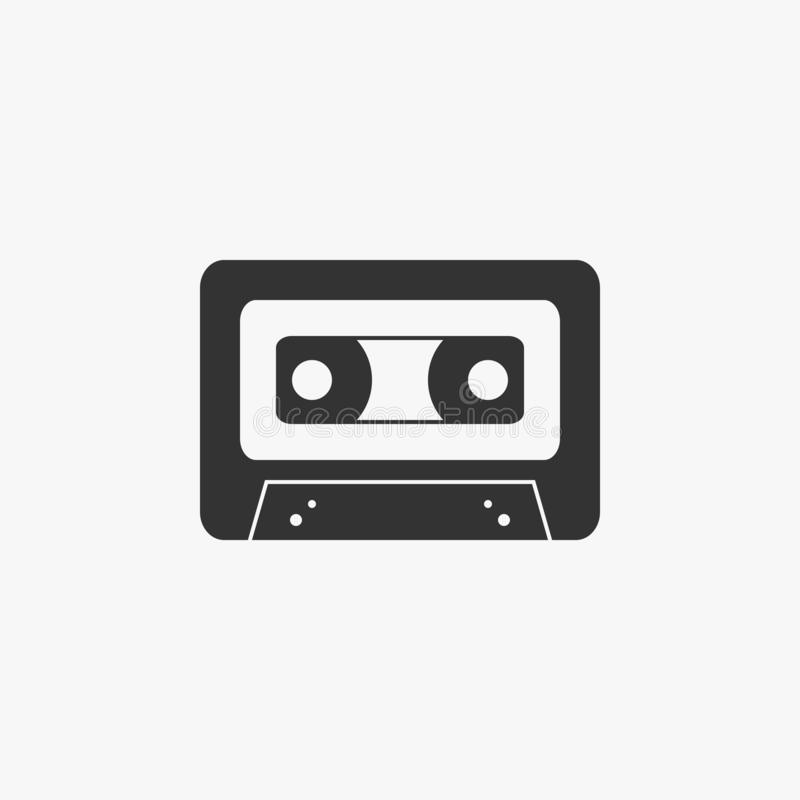 Musikbandikone, Musik, Band, Ton vektor abbildung