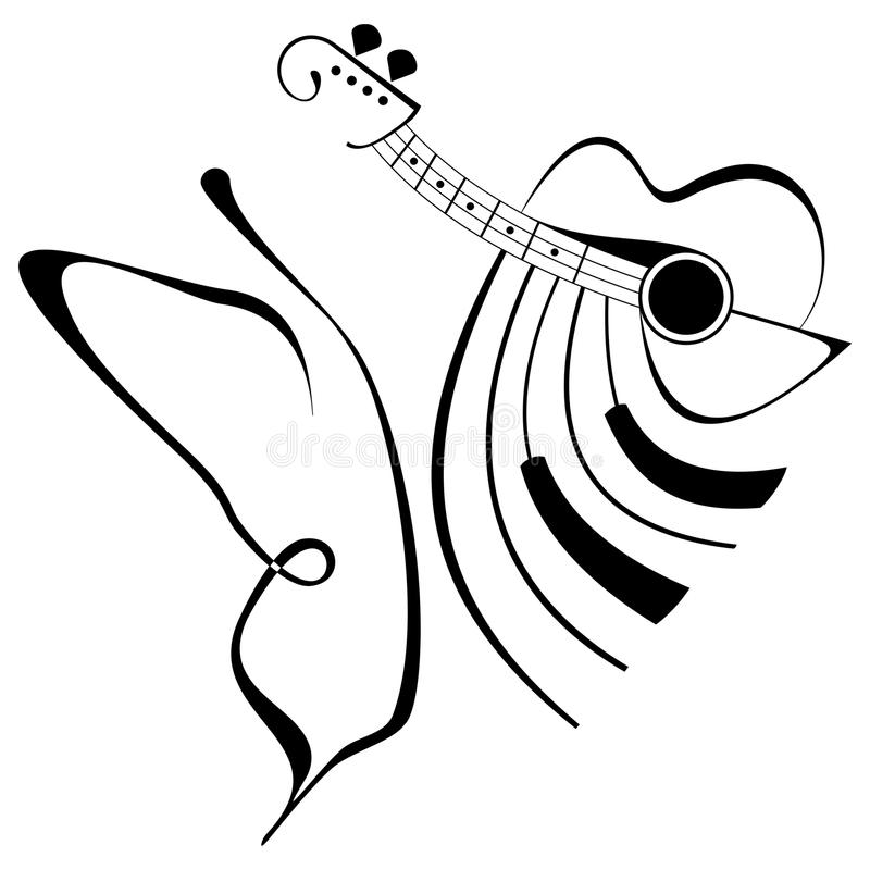 Musikbasisrecheneinheit vektor abbildung