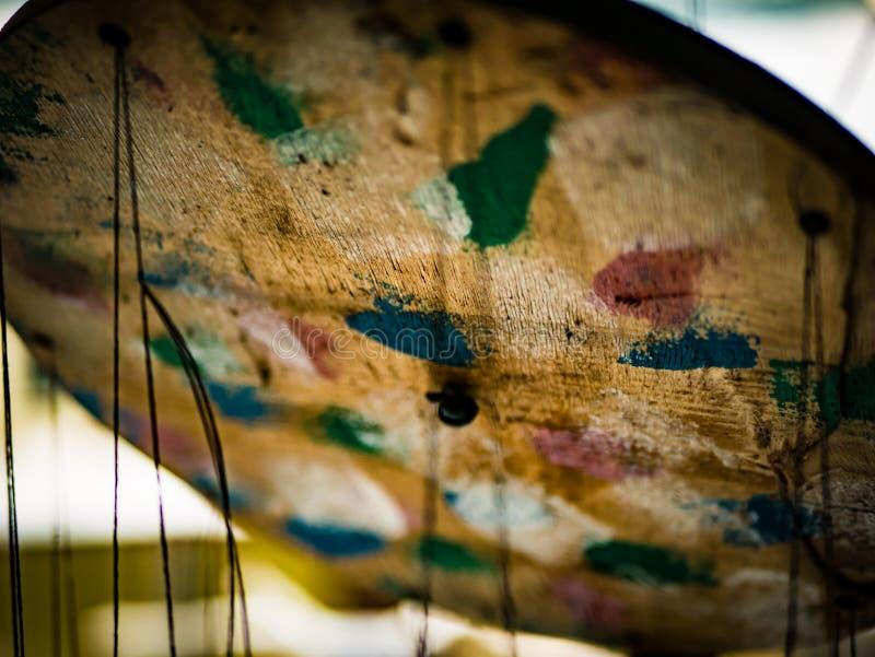 Musiken av vind arkivbild