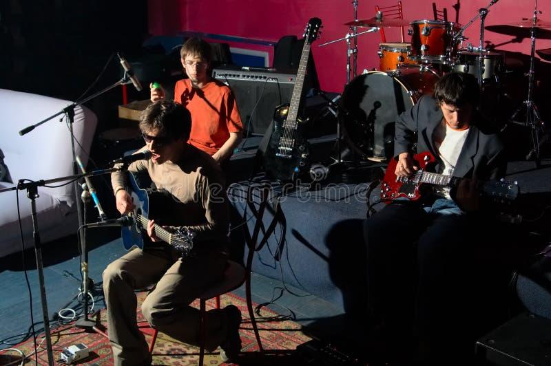 Musiker stockfoto