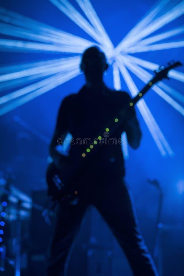 musiker royaltyfri fotografi