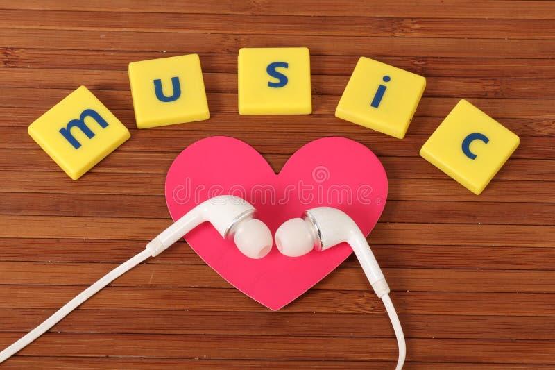 Musikförälskelse royaltyfri foto