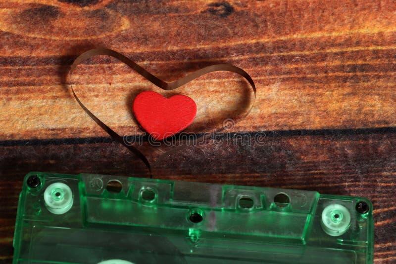Musikförälskelse arkivfoto