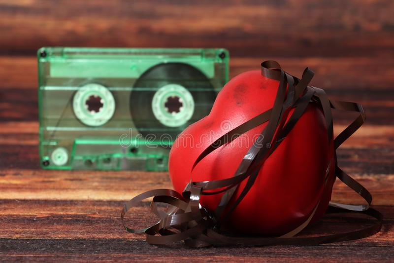 Musikförälskelse fotografering för bildbyråer