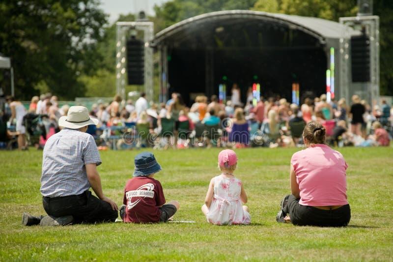 Musikfestival lizenzfreies stockfoto