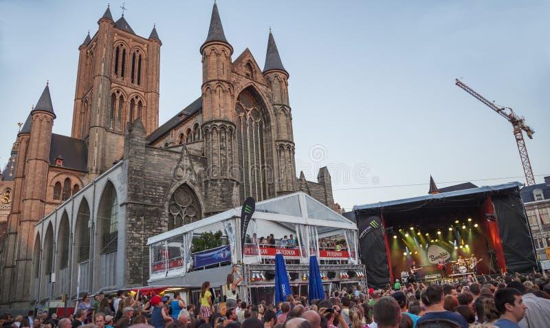 Musikfestival Gent-Fest stockfoto