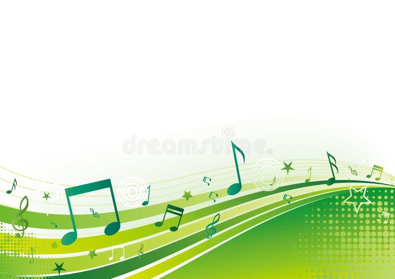 Musikhintergrund lizenzfreie abbildung