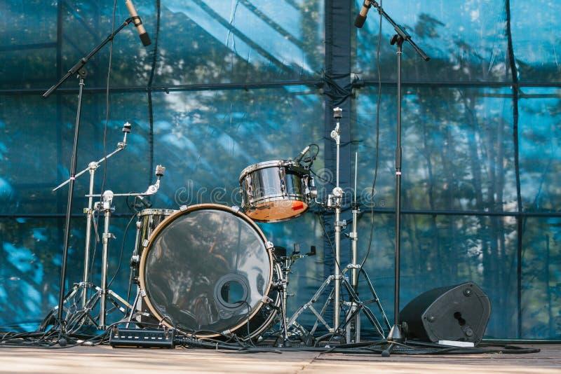 Musikhupe stellte 3 ein Unterhaltung und Konzerte im Freien stockbild