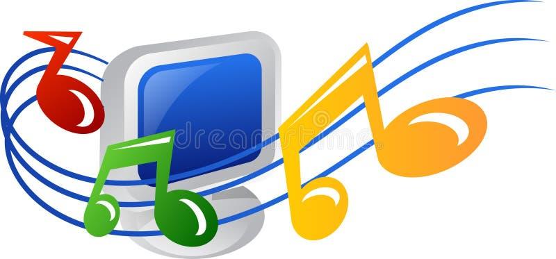 Musikikone lizenzfreie abbildung