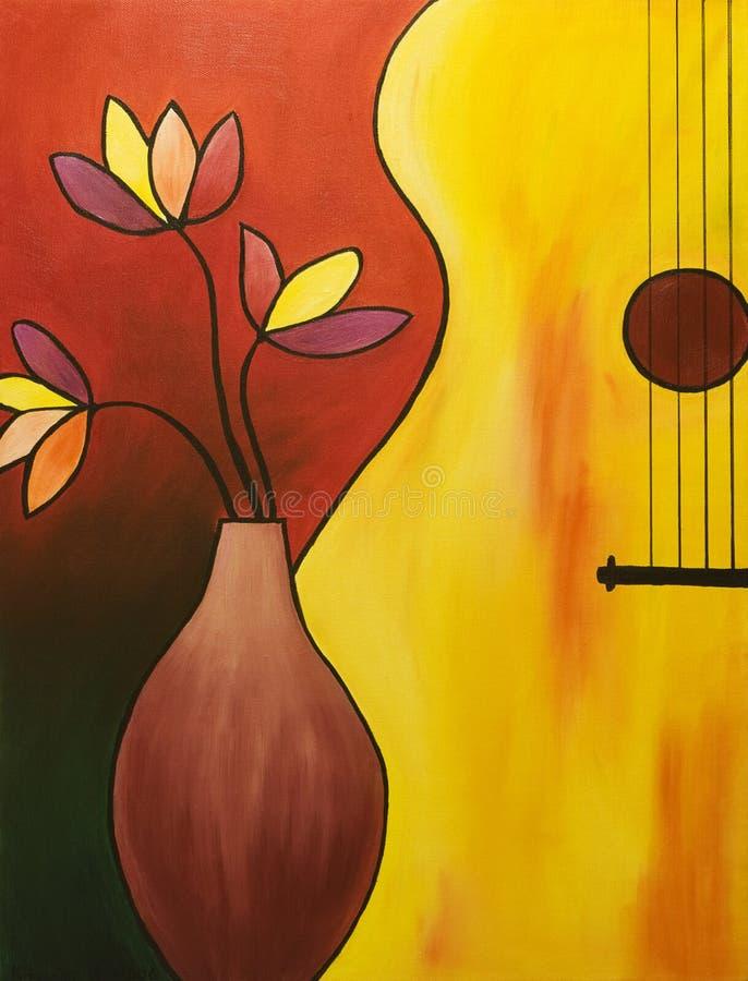 Musikinstrument lizenzfreie abbildung