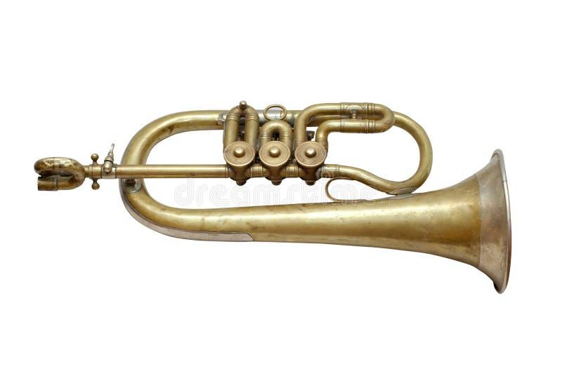 Musikinstrument der alten Weinlese stockfotos
