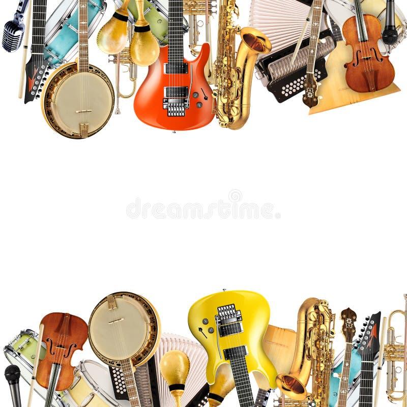 Musikinstrumente, Orchester stockfotos