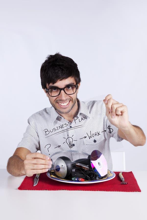Musikkarriere-Unternehmensplan lizenzfreie stockfotos