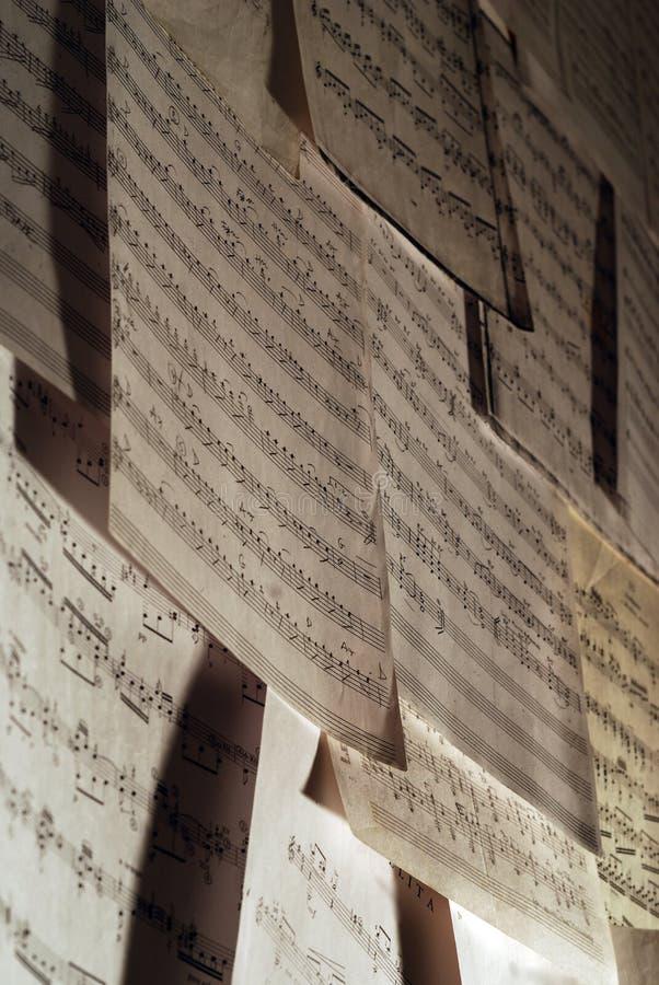 Musikkerben stockbild