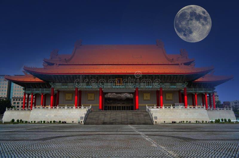 Musikkorridor av Taiwan arkivbild