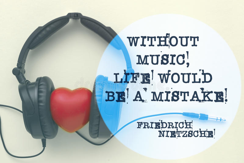 Musikliv Nietzsche arkivfoton