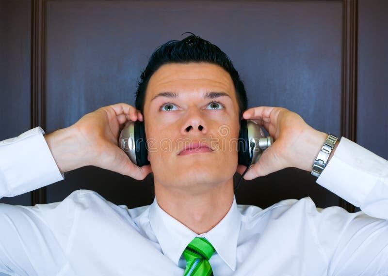 Musikmanager lizenzfreies stockfoto