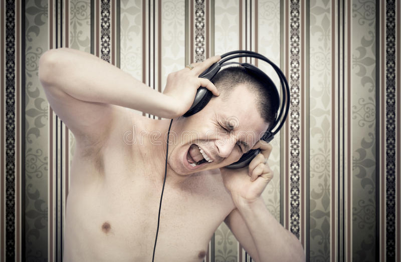 musikpassion royaltyfria foton