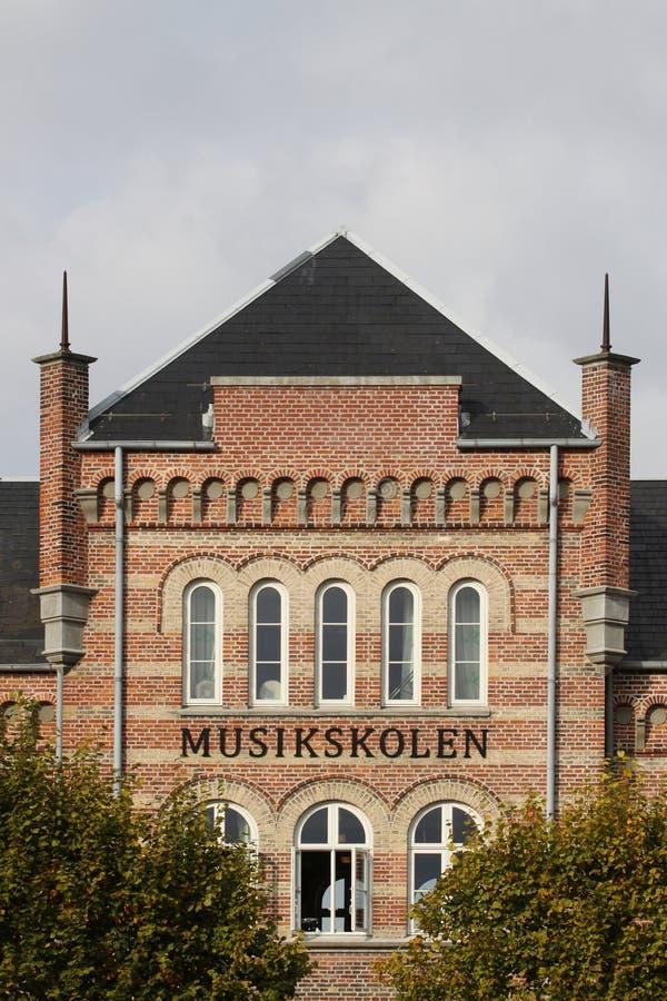 Musikschule von Aarhus lizenzfreies stockfoto