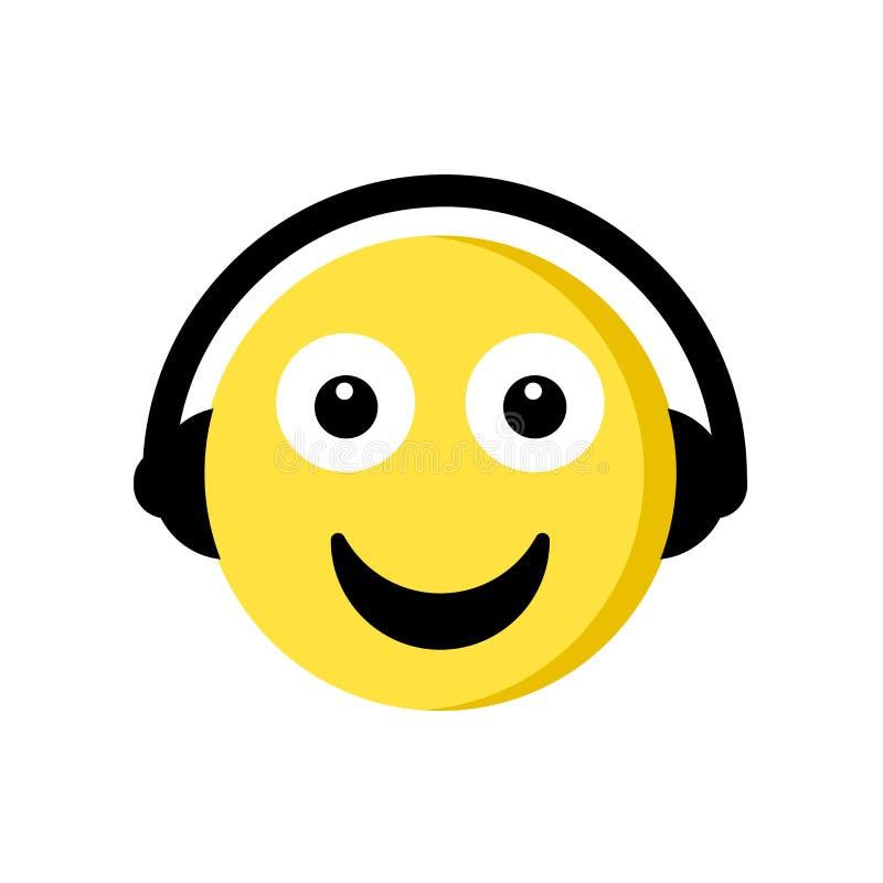 Musiksymbol som isoleras på vit bakgrund royaltyfri illustrationer