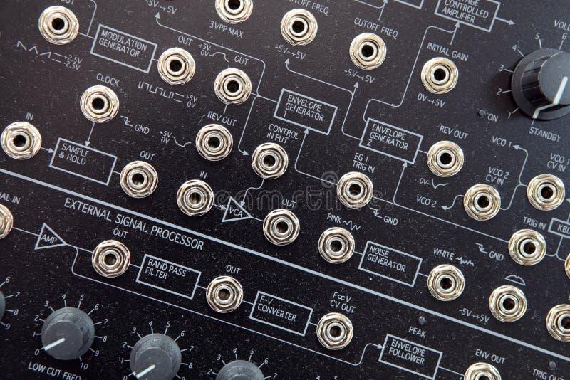 Musiksynthesizer lizenzfreie stockfotos