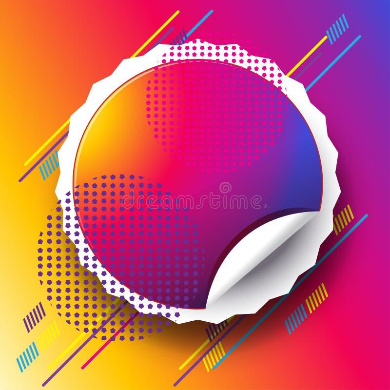 Musiktanzfestivalreise-Zusammenfassungszeichen lizenzfreie abbildung