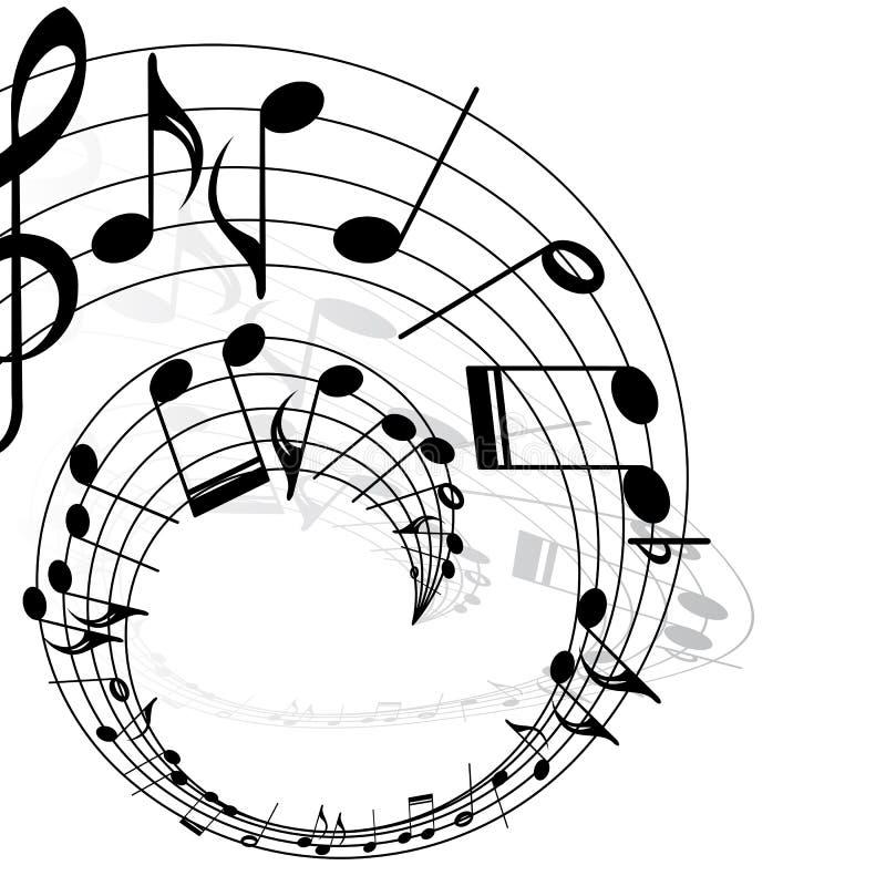 Musikthema lizenzfreie abbildung