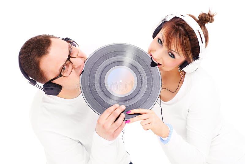 Musikvänner arkivfoton
